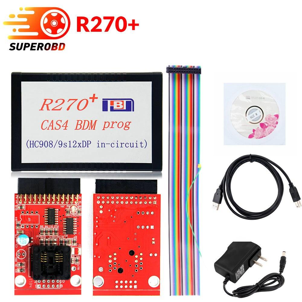 R270+ V1.20 Auto CAS4 BDM Programmer R270 CAS4 BDM Programmer Professional Key prog
