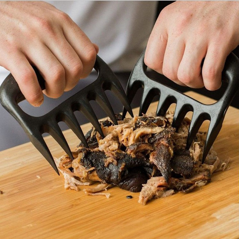 New 1pc Bear Claws Barbecue Fork For  Meat Shred Pork And  Clamp Roasting Fork Tool For Kitchen 1