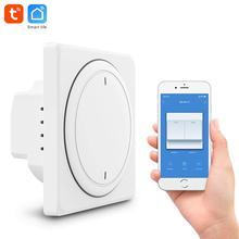 Tuya interruptor de hogar inteligente UE pared wifi Botón de interruptor remoto wifi interruptor de luz inteligente compatible con Alexa, Google home