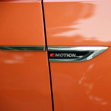 Car Styling Accessories For Volkswagen VW Tiguan 2017 2018 2019 Door Side Air Vent Wing Fender Emblem Badge sticker Trims
