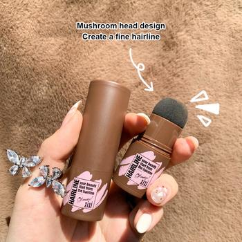 3 kolor Fluffy Hairline Powder linia włosów cień korektor włosów korzeń zakryć na skórę nosa do ukrywania cieni pod oczami naprawa szary pokrowiec Unisex TSLM1 tanie i dobre opinie CN (pochodzenie) 1Pcs