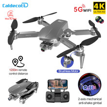 L106pro 2 GPS Drone 4K HD Dual Camera 2-axis Gimbal Aerial Photography Brushless Foldable Quadcopter RC Distance 1200M Gifts