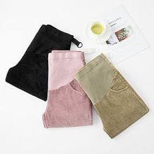 Plus Size XXL Maternity Pants for Pregnant Women Adjustable Pregnancy Comfort High Waisted Tummy Pants Clothes цена