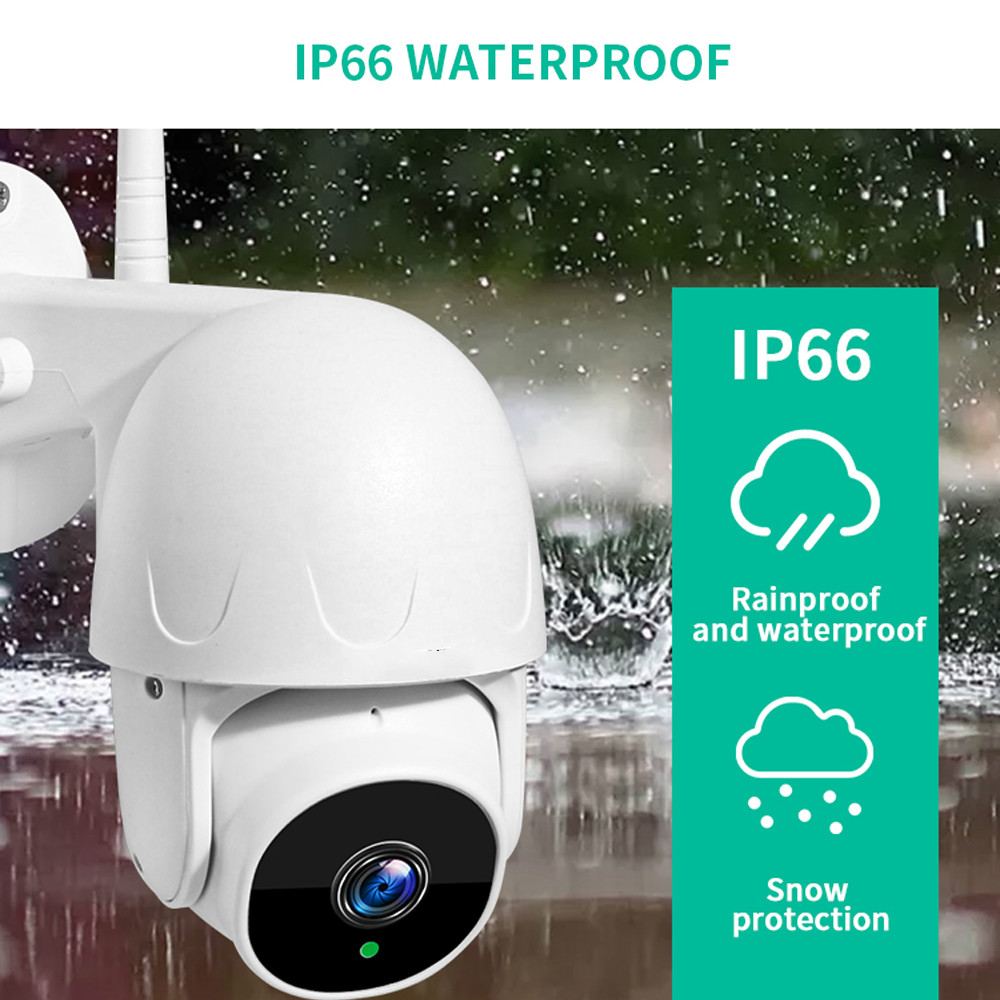 1080P PTZ Speed Dome Wifi Camera Outdoor 2MP Auto-Tracking Camera Wireless Camera Home Surveillance IP Cam