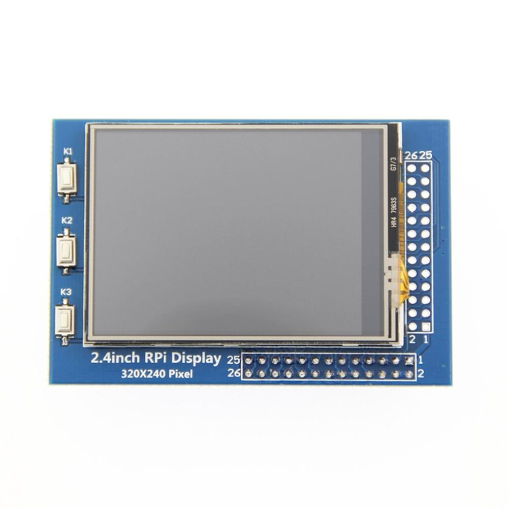 2.4inch RPi Display 2.4in TFT SPI Serial LCD Resolution 320*240 2.4inch LCD Display Module With Touch LED Backlight