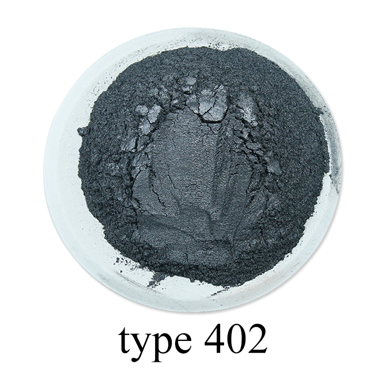 Silver Black Pearl Powder Acrylic Paint Pigment For Art Craft Car Paint Soap Eyeshadow Dye Colorant 50g #402 Mica Powder Pigment