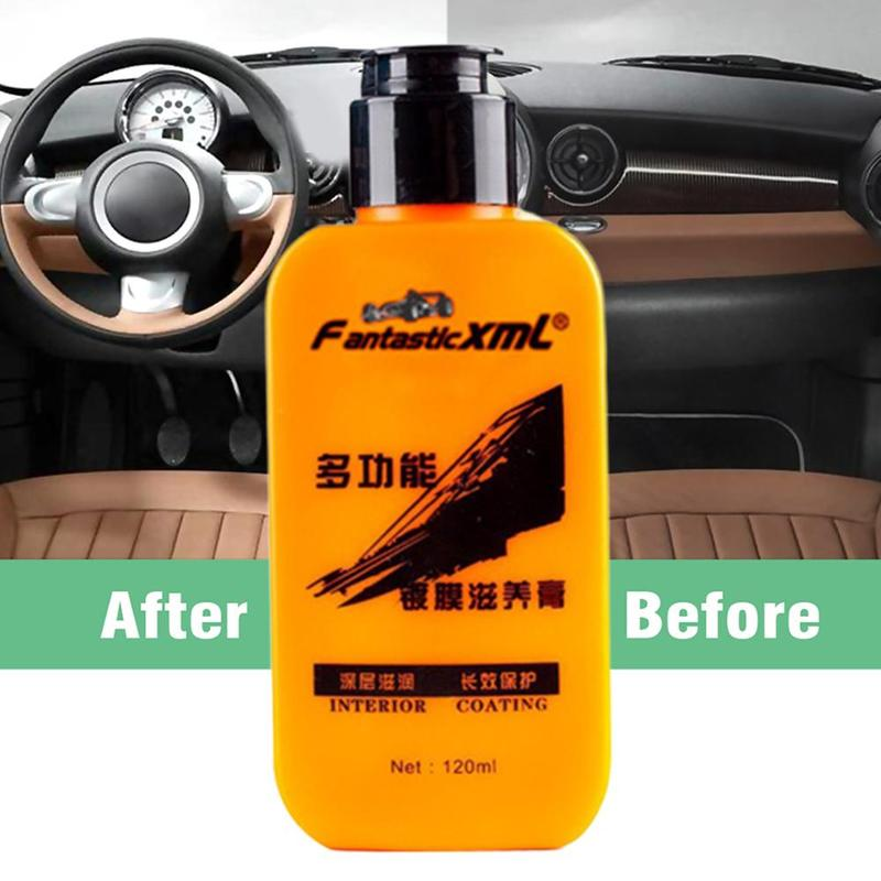 Heeadcadc9be24381879ced463fe5ac26g - Renovating Coating Paste Auto Leather  Decontamination Maintenance Agent Car Seat Center Console Leather Coating paste
