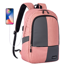 Zomake Laptop Backpack Slim Water Resistant College Travel Hiking Camping Bag fo