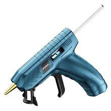 New High Temp Heater Melt Hot Glue Gun 40W DIY Household Industrial Heat Mini Glue Gun USB Recharge With 10pcs 7mm Glue Sticks