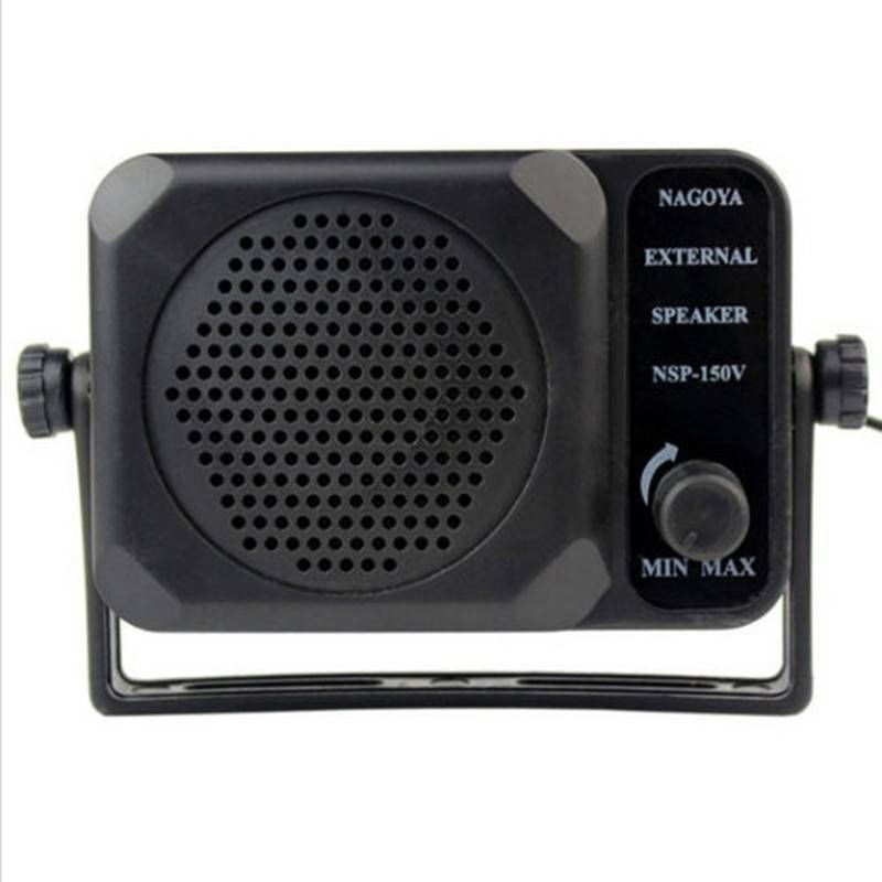 CB Radio Mini External Speaker NSP-150v Ham For HF VHF UHF Hf Car Radio Transceiver Qyt Kt8900 Kt-8900