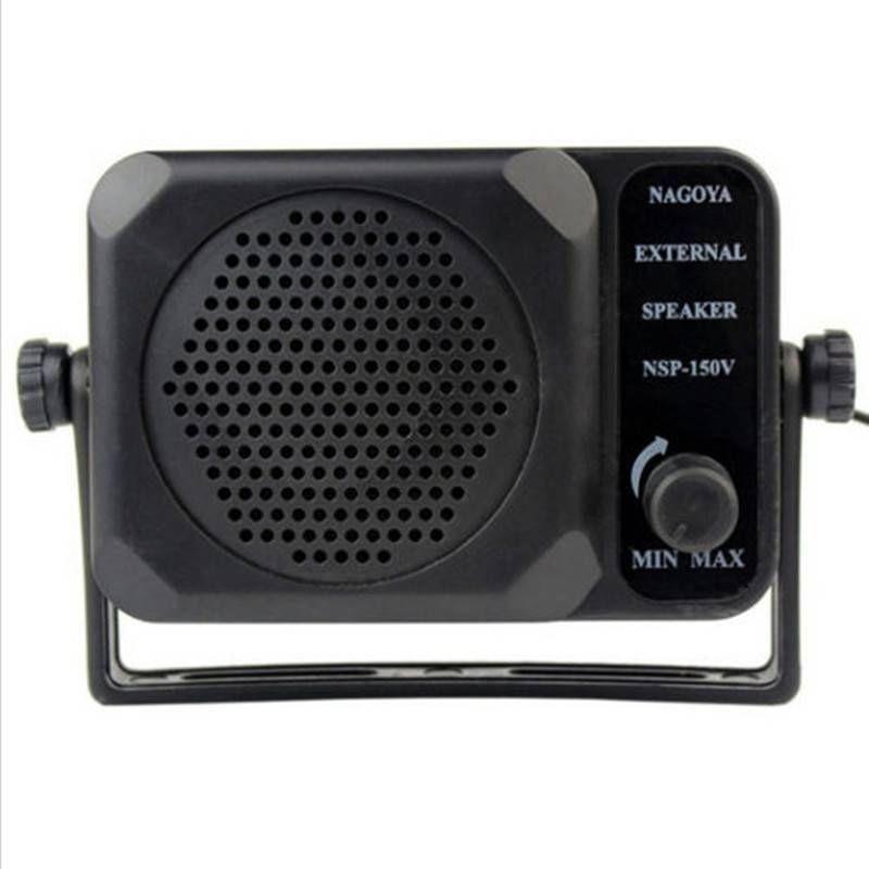 CB Radio Mini External Speaker NSP-150v Ham For HF VHF UHF Hf Car Radio Transceiver Qyt Kt8900 Kt-8900