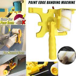 Clean Cut Paint Edger Roller Brush Safe Tool Portable for Home Wall Ceilings New 2020|Zestaw narzędzi do malowania|Narzędzia -