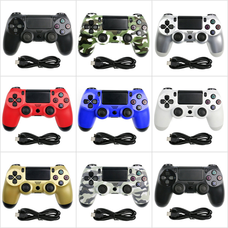 USB Wired Controller for PS4 Gamepad for Play Station 4 Controller for Dualshock 4 Gamepad for PS4 Console With Double Vibration(China)