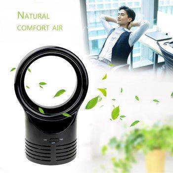 Bladeless Fan AirFlow Cooling Fan Mute Dedicated Leafless Home Office Desk Air Cooler Baby Safe Summer Fan
