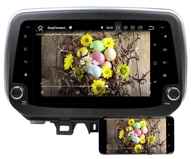 hyundai tucson ix35 android 8.0 head unit 2018 2019 5