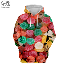 PLstar Cosmos Funny Candy Cartoon colorful Harajuku Tracksuit Casual 3D full Print Hoodie/Sweatshirt/Jacket/shirts Men Women S-6 зонт женский fabretti автомат 3 сложения цвет бордовый l 17119 9