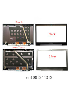 New Original For Lenovo U330 U330P U330T Silver LCD Rear Top Lid Back Cover / Front Frame Bezel 3CLZ5LCLV30 3CLZ5LCLV00 90203123(China)
