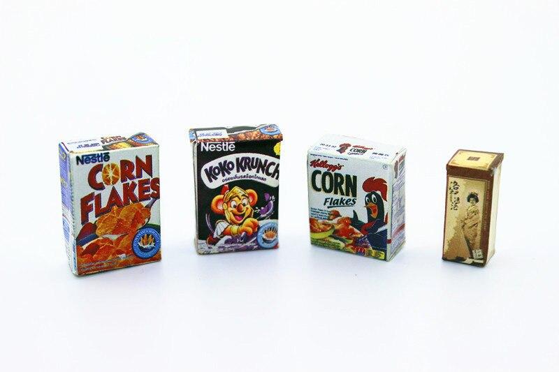 1:12 Dollhouse Accessories Miniature Breakfast Milk Doll Kitchen Toys For Children Girls Orange Lion Beatuty Chicken