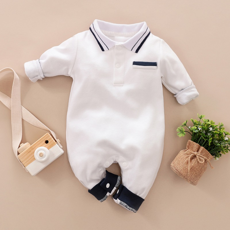 Newborn Kid Baby Girl Clothes Long Sleeve Cotton Romper Jumpsuit Overall Outfits