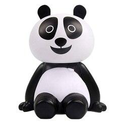 Ultradźwiękowy nawilżacz śliczne Mini Panda nawilżacz powietrza Usb dyfuzor olejków eterycznych Aroma fajne mgły biuro w domu sypialnia salon