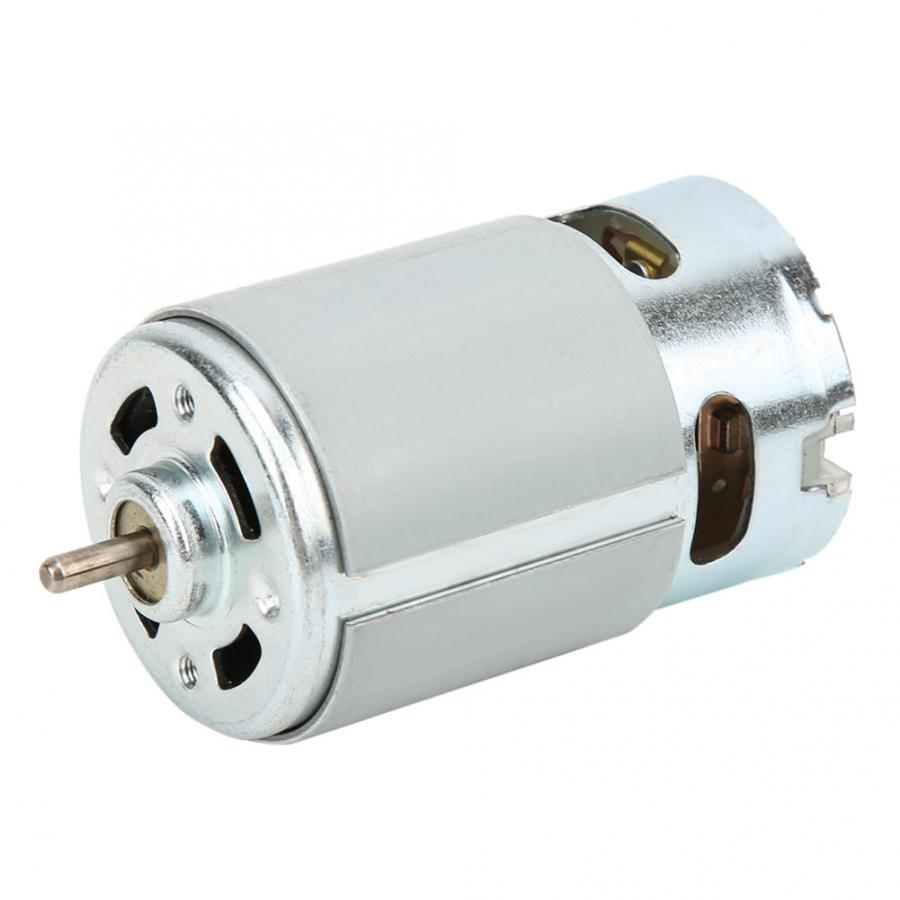 RS-<font><b>550</b></font> Micro DC <font><b>Motor</b></font> DC 12-24V 5800 RPM For Various Cordless Electric Hand Drill image