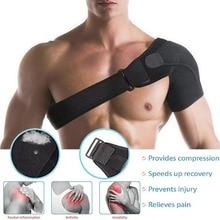 Adjustable Shoulder Support Brace Strap Therapy Arthritis Joint Pain Shoulder Dislocation Injury Arthritis Pain Support Strap gentle yoga arthritis
