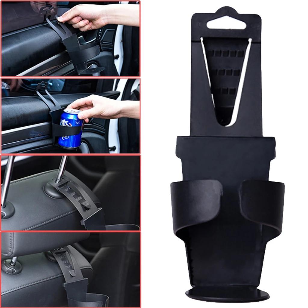 Universal Vehicle Car Truck Door Mount Drink Bottle Cup Holder Stand Black P DS