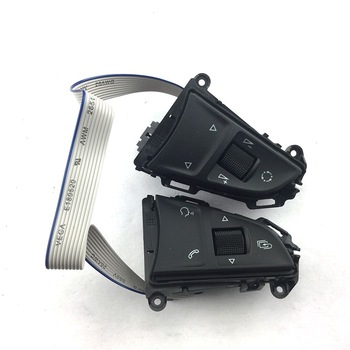 цена на 2014 Fit For YETI SUPERB RAPID FABIA PQ35 PLATFORM MTF Multifunction Steering Wheel Button/Switch Phone Bluetooth Button
