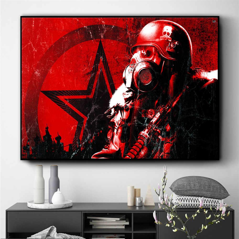 Metro 2033 Fear The Future Posters e impresiones arte de pared pintura en lienzo para la decoración de la sala de estar decoración del hogar Quadros sin marco