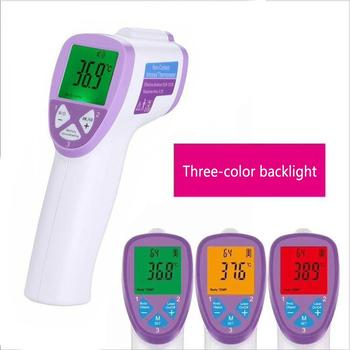 New Adult Infant Digital IR Body Thermometer Forehead Surface Temperature