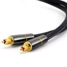 Hannord Digital Optical Audio Cable SPDIF male to male outpu