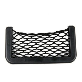Universal Car Storage Bag Elastic Flexible Mesh Back Side Truck Storage Organizer Net Interior Accessories Pocket High Quality image