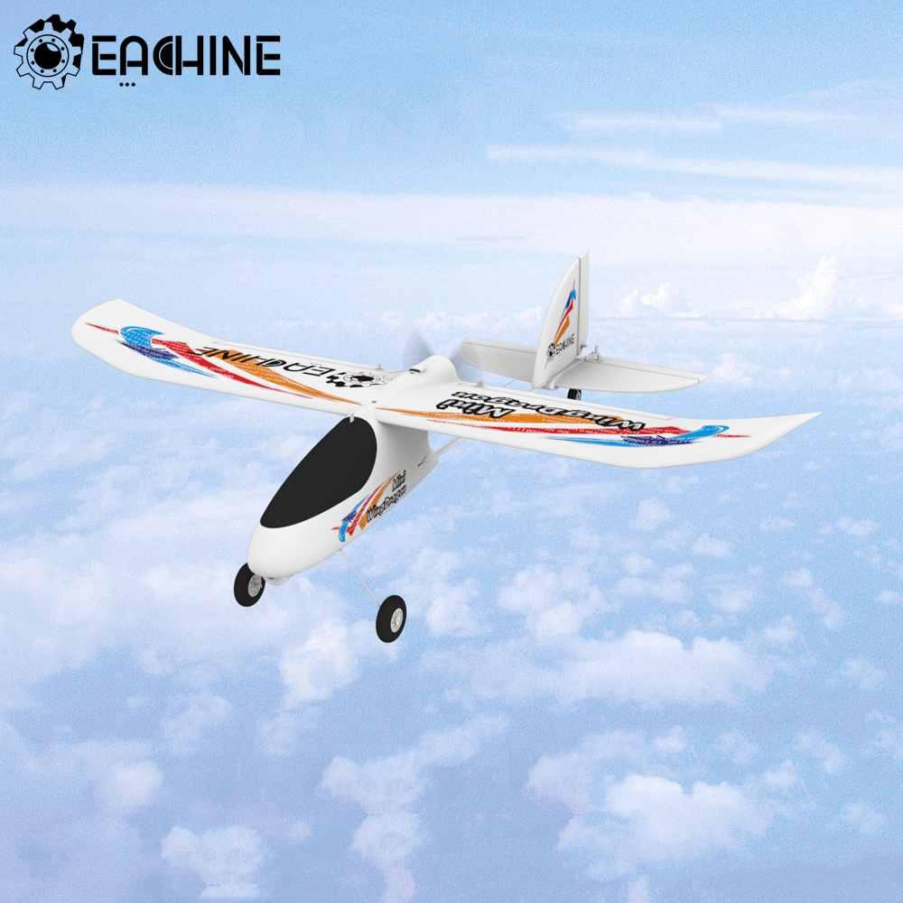 Eachine Mini Wing Dragon 540mm Wingspan RC Airplane 2.4G 4CH 6-Axis Gyro Trainer Glider EPP RTF One Key Return Home for Beginner