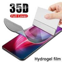Film Hydrogel plein écran pour Samsung Galaxy S10 S9 Plus Note 10 Pro 9 8 S7 Edge S10 Lite Film protecteur pour Samsung A50 A80 A60