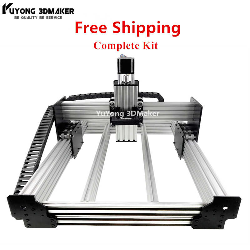 1.5KW WorkBee CNC routeur Machine kit complet WorkBee CNC gravure sculpture Machine Kit complet