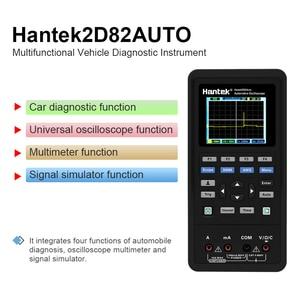 Image 3 - Handheld Oscilloscoop Hantek 2D82 Draagbare 4 In 1 Digitale Detector 80Mhz 2D82AUTO Signaal Bron Automotive Diagnostic 250msa/S