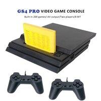 TV Game Player Console a 8 Bit integrata nel 200 gioco Retro Classic GS4 PRO Console per videogiochi supporto cartuccia di gioco