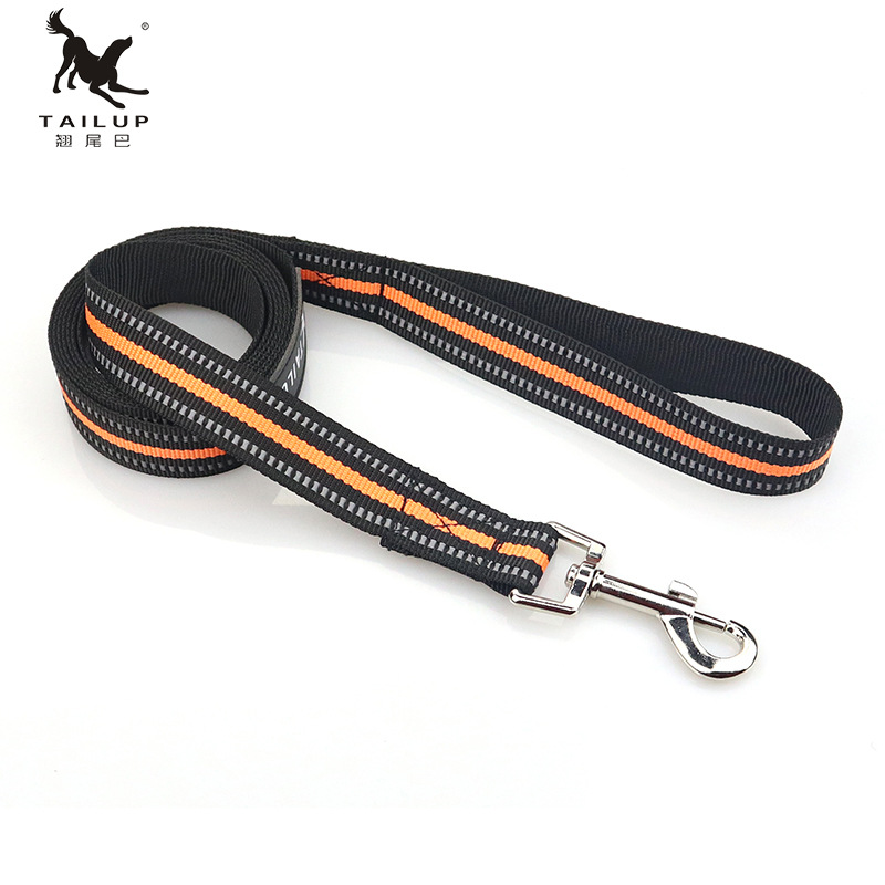 Pet Supplies Dog Reflective Woven Tape Hand Holding Rope Night Travel Portable Cross Border AliExpress Manufacturers Direct Sell
