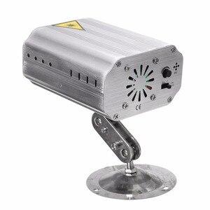 Image 4 - 24 طرق LED ديسكو جهاز عرض ليزر ضوء المرحلة تأثير ستروب مصباح ل DJ الرقص الطابق عيد الميلاد المنزل إضاءة داخلية تظهر