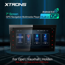 "XTRONS 7"" DSP Android 9.0 IPS Navigation Multimedia Player Fit for OPEL for Vauxhall for Holden Full RCA WIFI TPMS DAB NO DVD(China)"