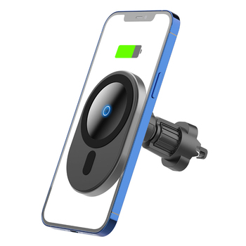 15w NEW Magnetic Wireless Charger Qi Fast Charging Mount Air Vent Phone Stand For IPhone 12 Pro Max Mini Car Holder image