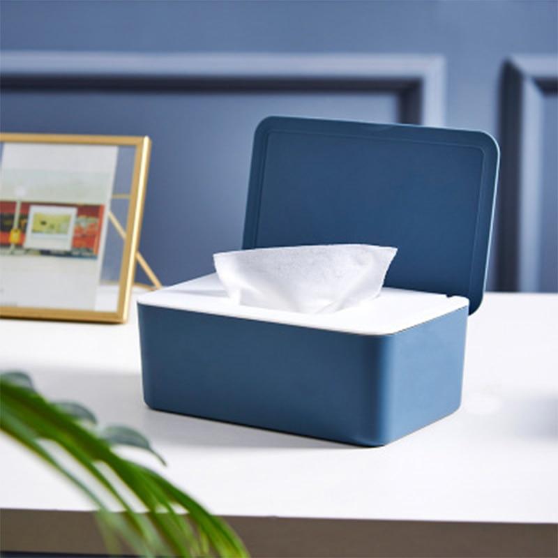Фотобокс для хранения пищевых пластиковых масок, чехол-органайзер для домашнего использования, большой емкости, вмещает 35-40 масок