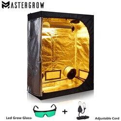 MasterGrow Grow Tent Indoor Hydroponics Led Grow Light, Grow Room Plant Growing, Reflective Mylar Non Toxic Garden Greenhouses