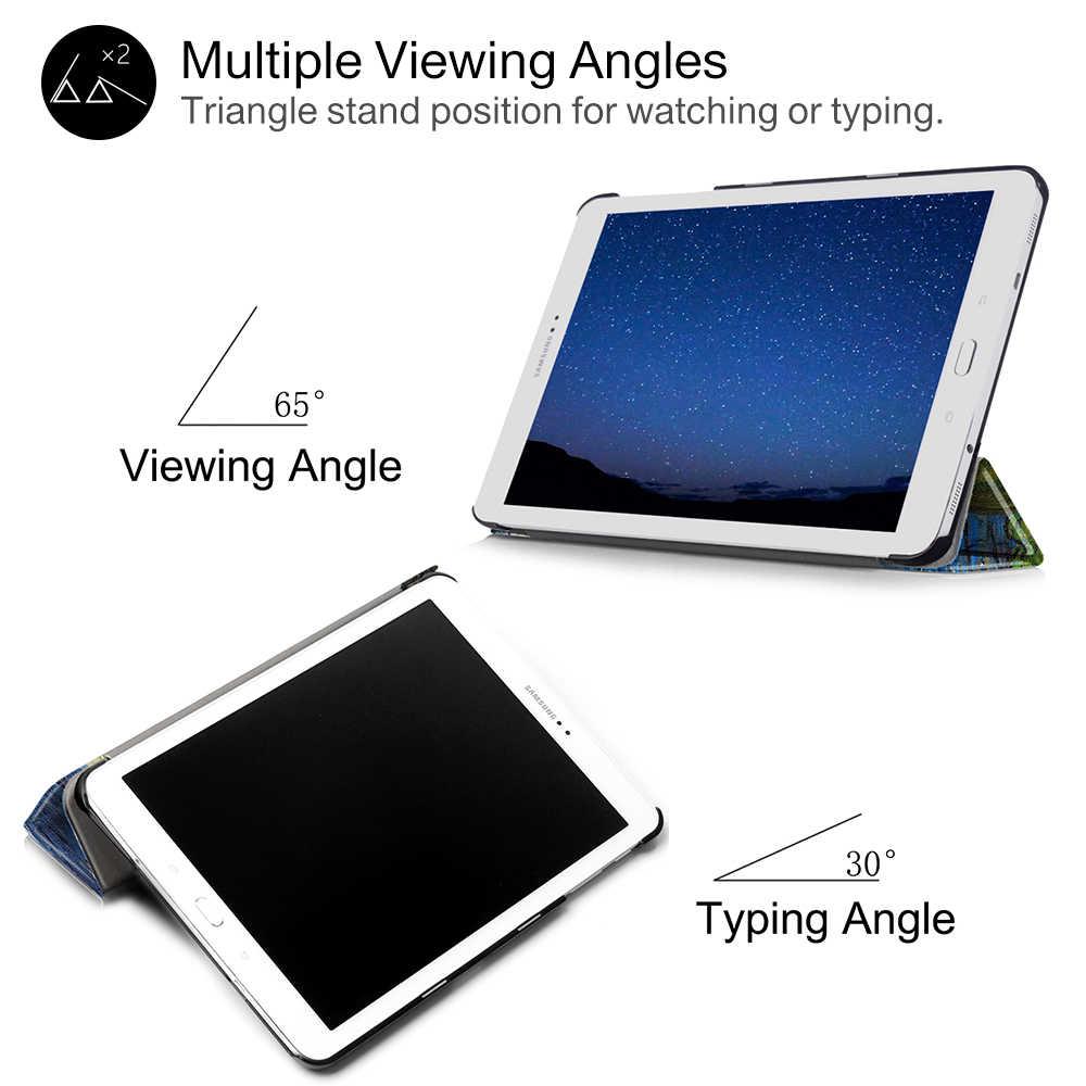Case Voor Samsung Galaxy Tab S2 SM-T810 T815 SM-T813 T819 9.7 Pu Leather Cover Voor Samsung Galaxy Tab S2 9.7 T810 T815 t819 T813