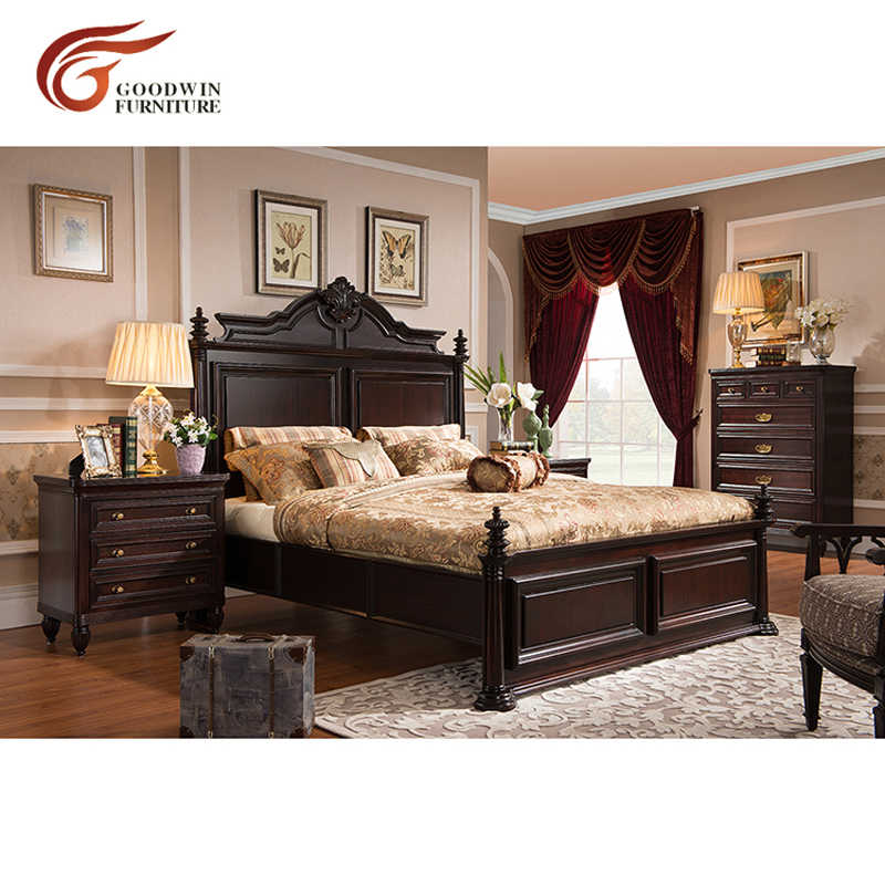 Latest Wooden Box Bed Designs Modern Bedroom Furniture Set Of King And Queen Size Bed And Match Bedside Tables Set Wa390 Beds Aliexpress