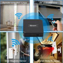 2019 новейшая мода SONOFF RF мост шлюз WiFi беспроводной черный твердый RF переключатель смарт-пульт дистанционного управления 433 МГц