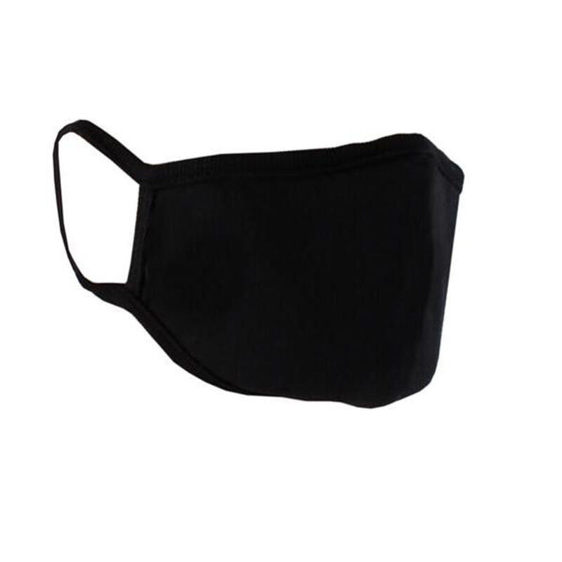 1 PC Women And Man Black Mask Winter Warm Mouth Anti-Dust Face Mask Outdoor Respirator Mask