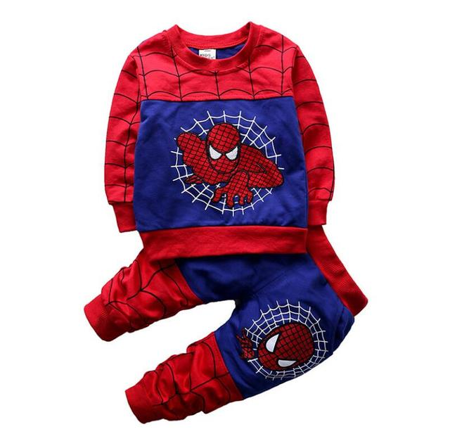 Baby Spiderman Clothing Sets -Costumes Kids Clothes 3pcs  5