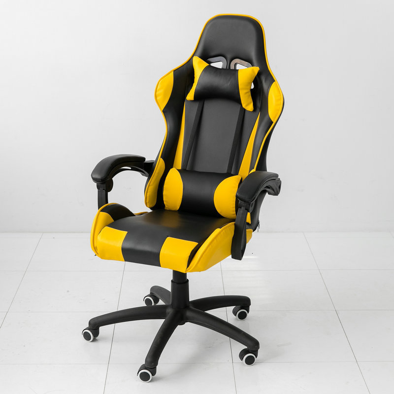 Internet Curry Computer Chair Game Electric Competitive Chair Home Office Chair Bow Ergonomic Chair