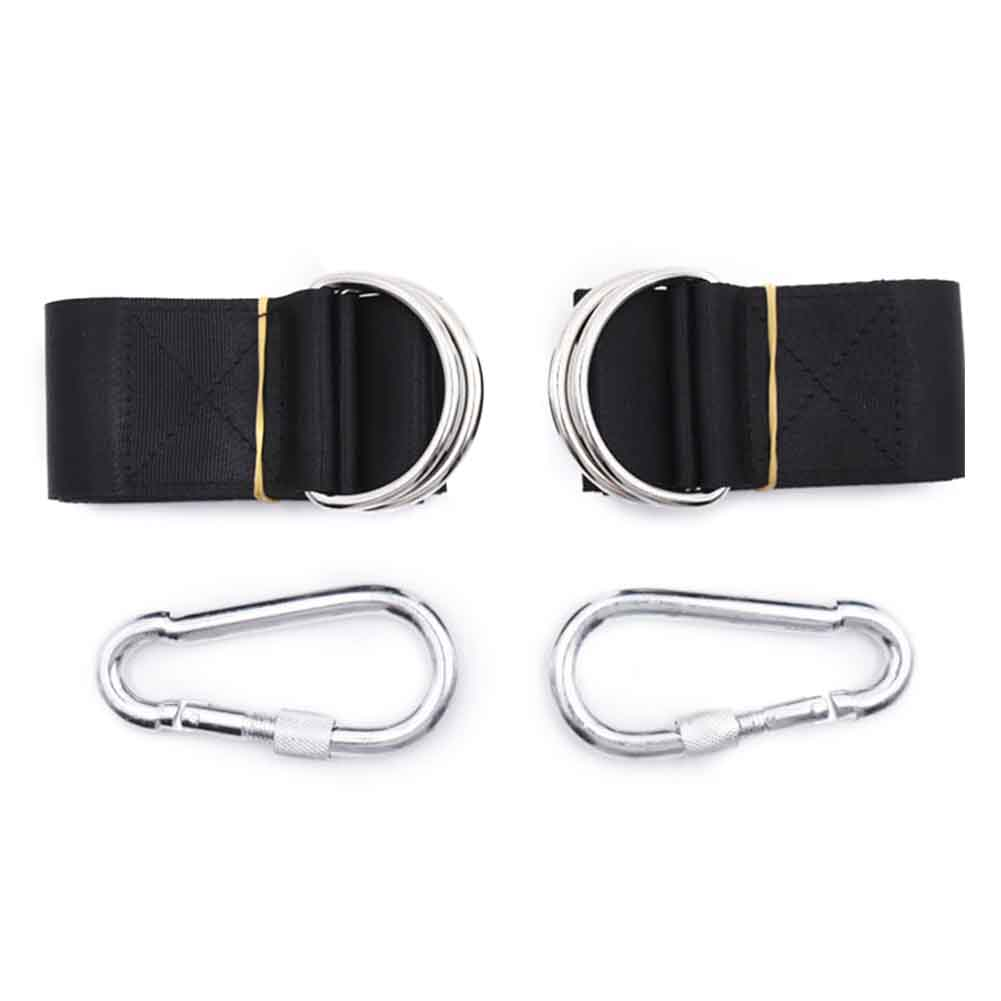 Hammock Attachment Bandage Carabiner Swing Rope Extension Seat Chair Home Garden Non Slip Accessories Tree Mount Hanging Strap